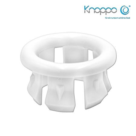Knoppo Waschbecken Blende Ring weiß