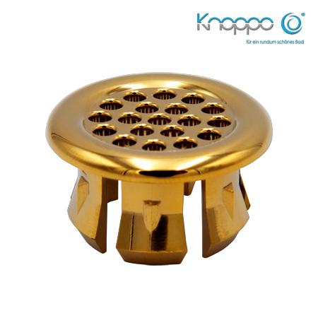 Knoppo Design Abdeckung Sieve Modell - Gold
