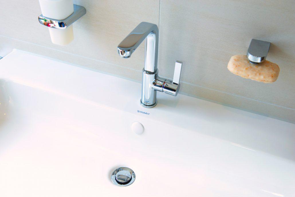 Knoppo Überlaufblende Hygiene Modell - Medi Cap (weiß)