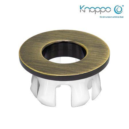 Knoppo Messing Design Eye Bronze brushed