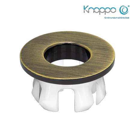 Knoppo Messing Design Eye Bronze brushed