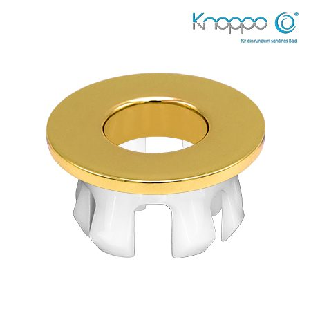 Knoppo Messing Design Eye Gold