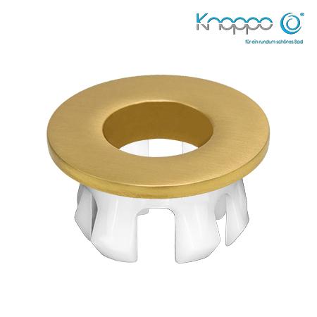 Knoppo Messing Design Eye Gold brushed